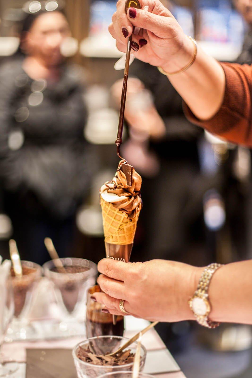 Godiva Chocolates Ice Cream