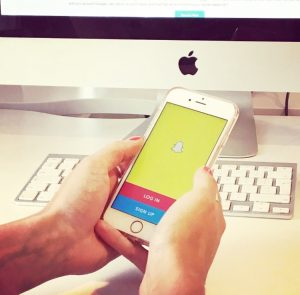 snapchat in business