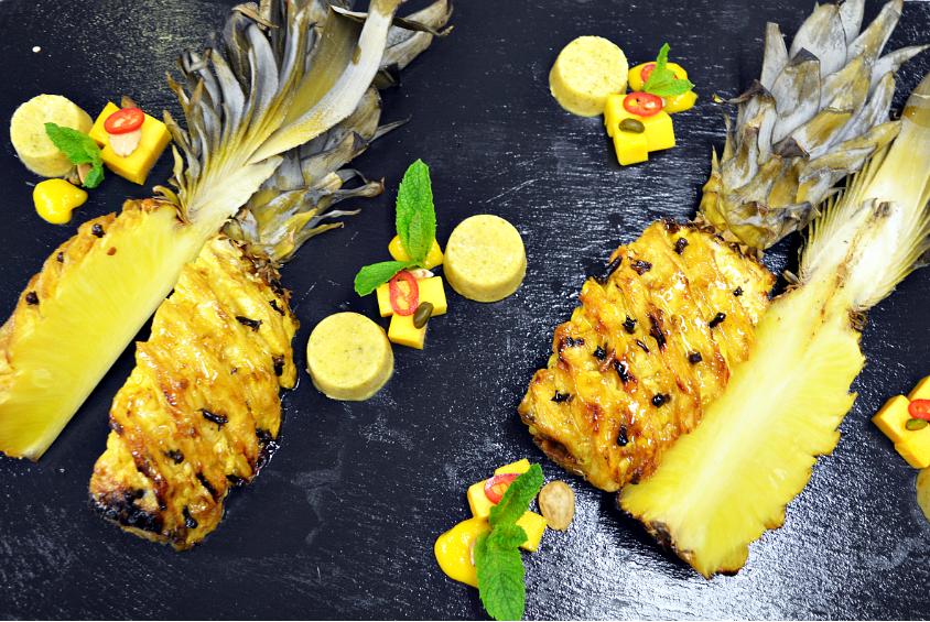 characoal pineapple