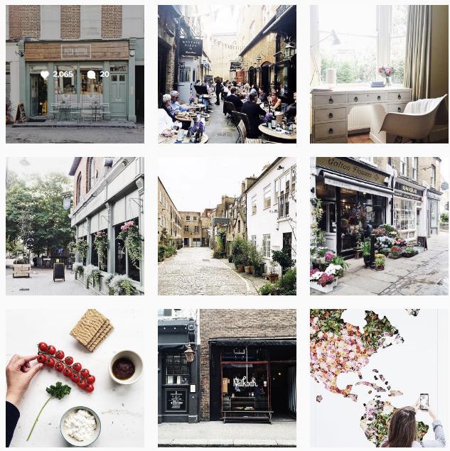 Poppy Loves London Instagram