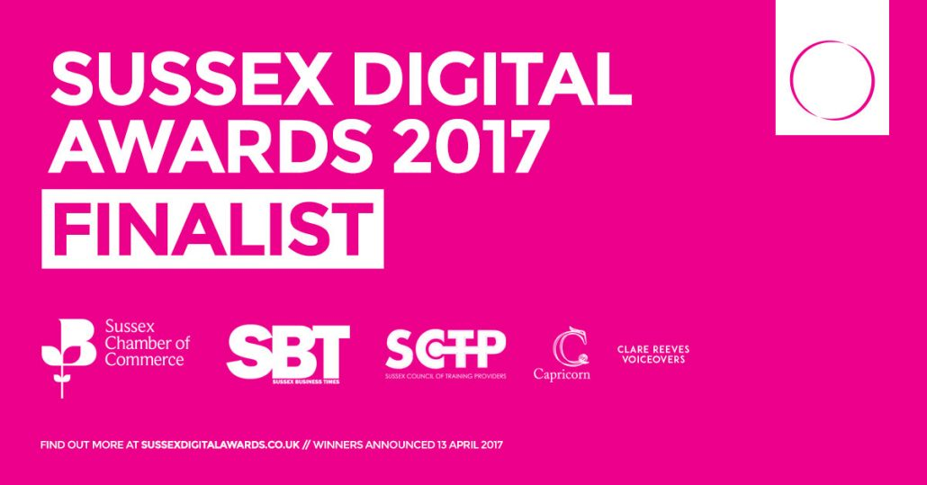 Sussex Digital Awards Finalists