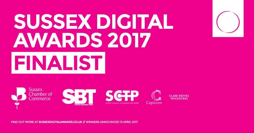 Sussex Digital Awards Finalists