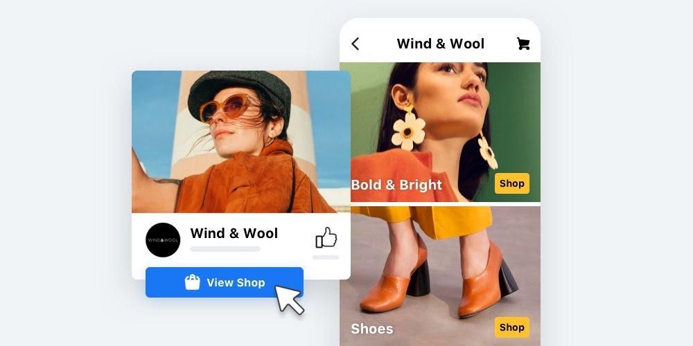 social media shops